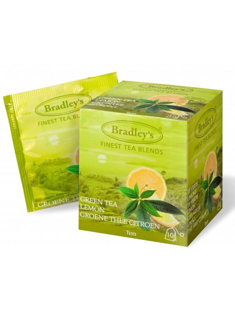 TEA BAGS GREEN TEA LEMON 10 UND