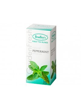 TEA BAGS PEPPERMINT EST 25 UND