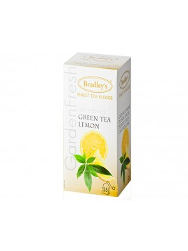 TEA BAGS GREEN LEMON EST 25 UND