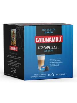 Café desca. con leche de 16 cáps.